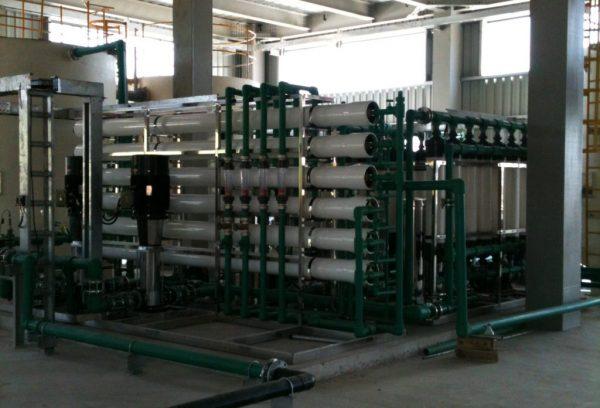 Dây chuyền lọc xử lý nước trong bệnh viện